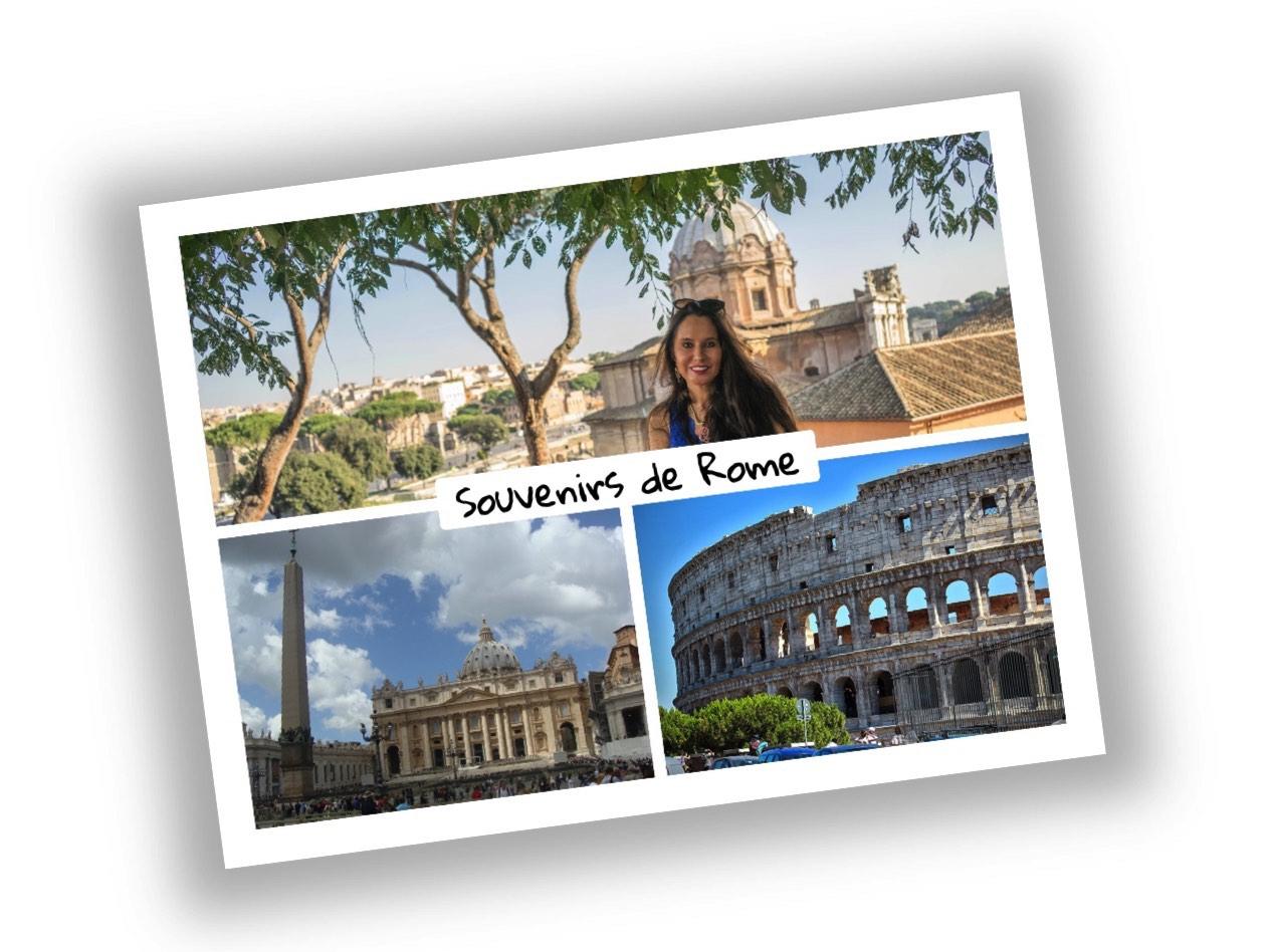la carte postale personnalisée de voyage